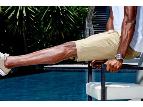 Give him a gift: bermuda for men 100% cotton from Sebastiano